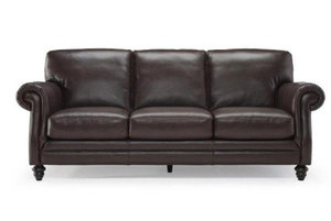 "Adriano B868 ""100% Top Grain Leather"" Sofa"