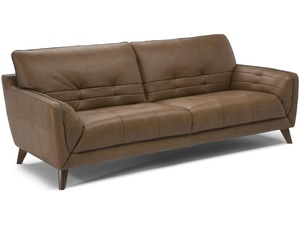 Andrea B974 100 Top Grain Leather Sofa