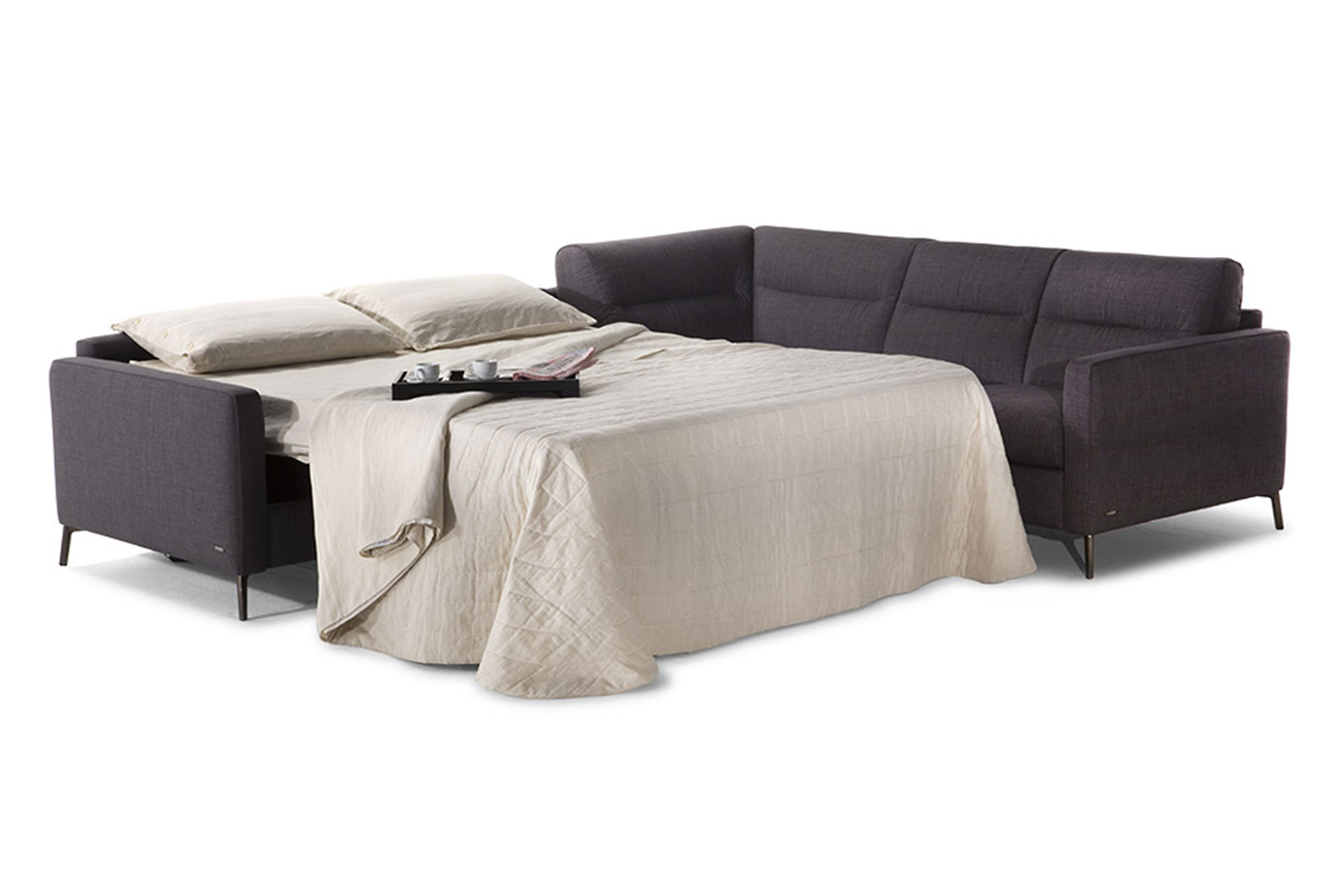 sofa sleeper of with sectional couch large leather size chaise sofas recliner bed gray black