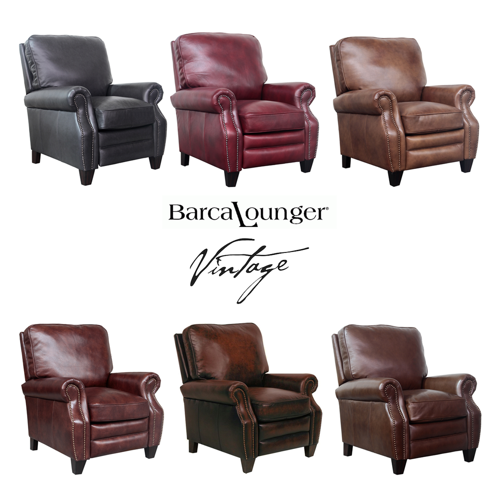 Outstanding Briarwood Vintage Leather Recliner In Stock Sofas And Creativecarmelina Interior Chair Design Creativecarmelinacom
