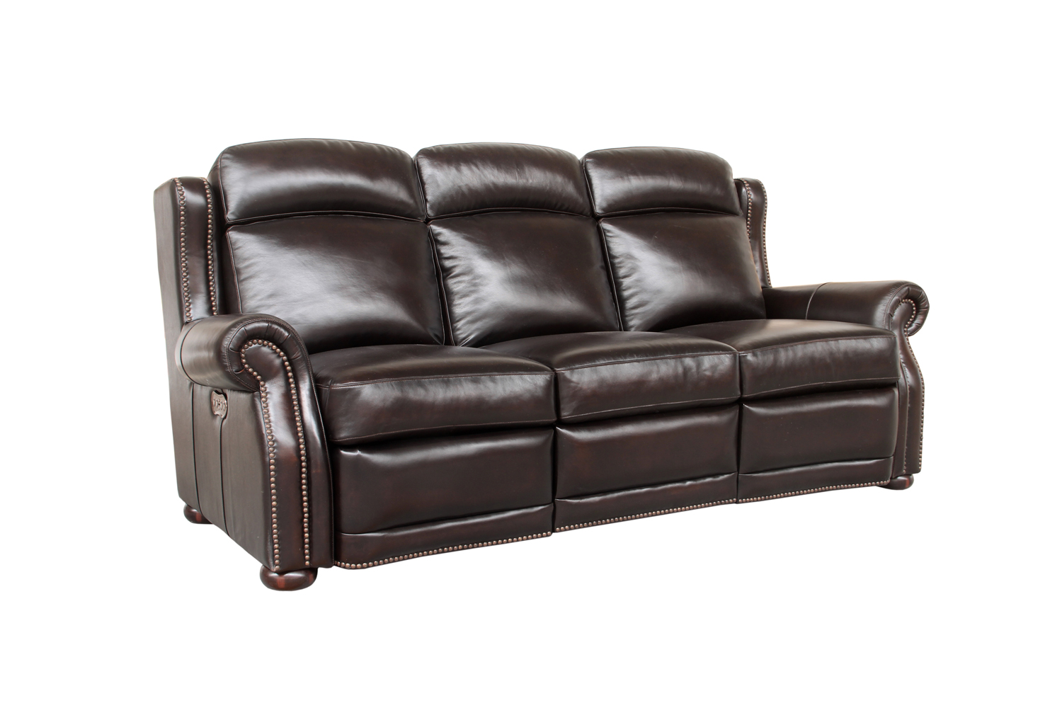 Fabulous Washington Vintage Brown Leather Power Headrest Sofas And Gamerscity Chair Design For Home Gamerscityorg