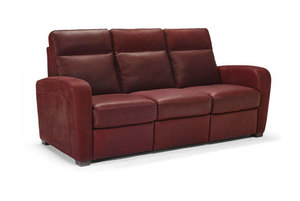 Rodrigo B938 **100% Top Grain Leather** Sofa. By Natuzzi Furniture