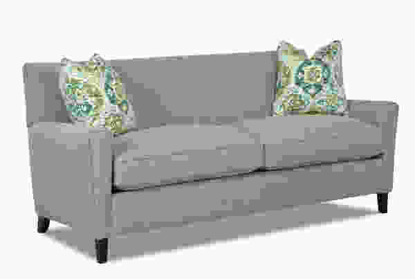 Goldie 78quot sofa w down cushions sofas and sectionals for Sectional sofa down cushions