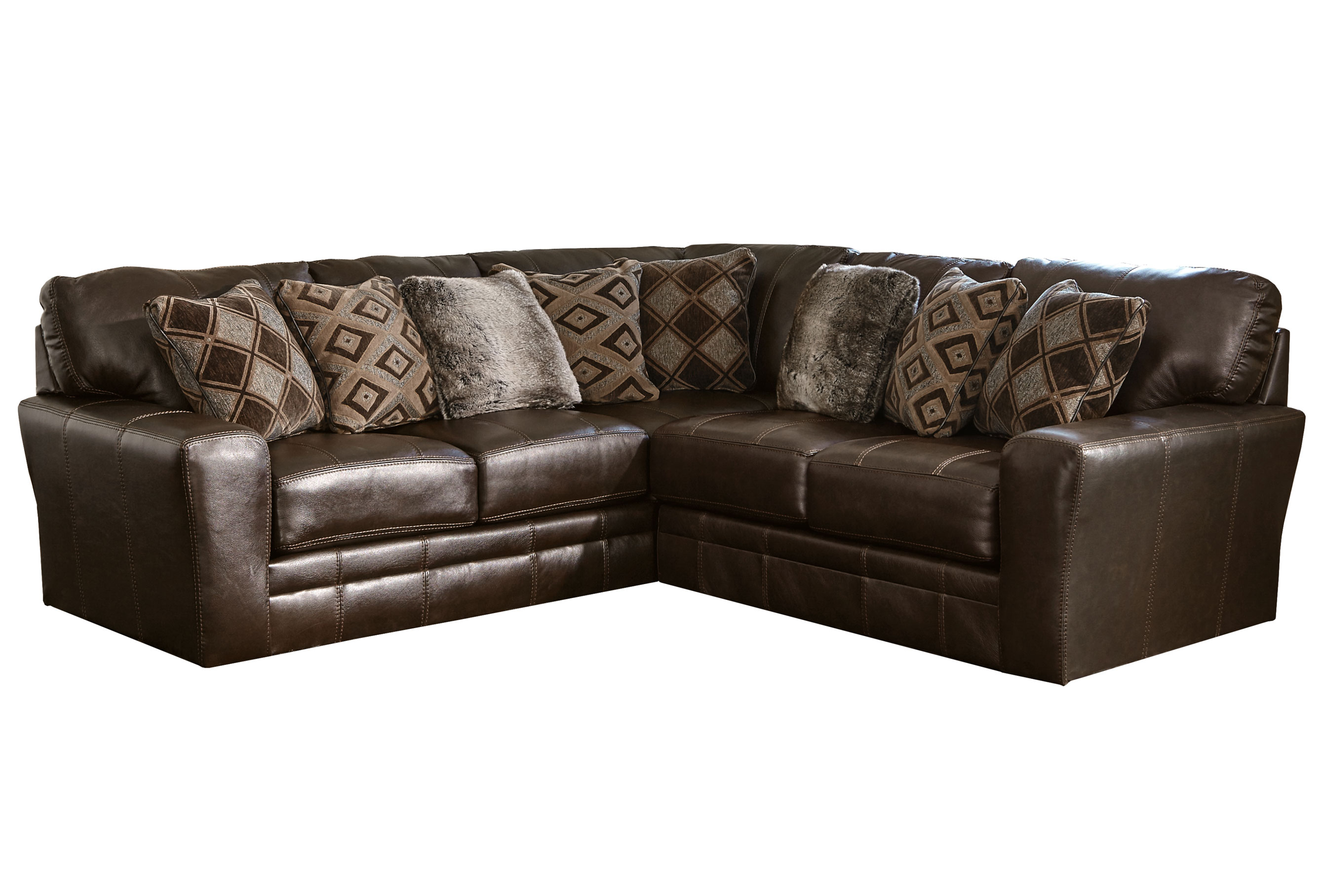 sofas leather by original sectionals barrington and jackson sectional
