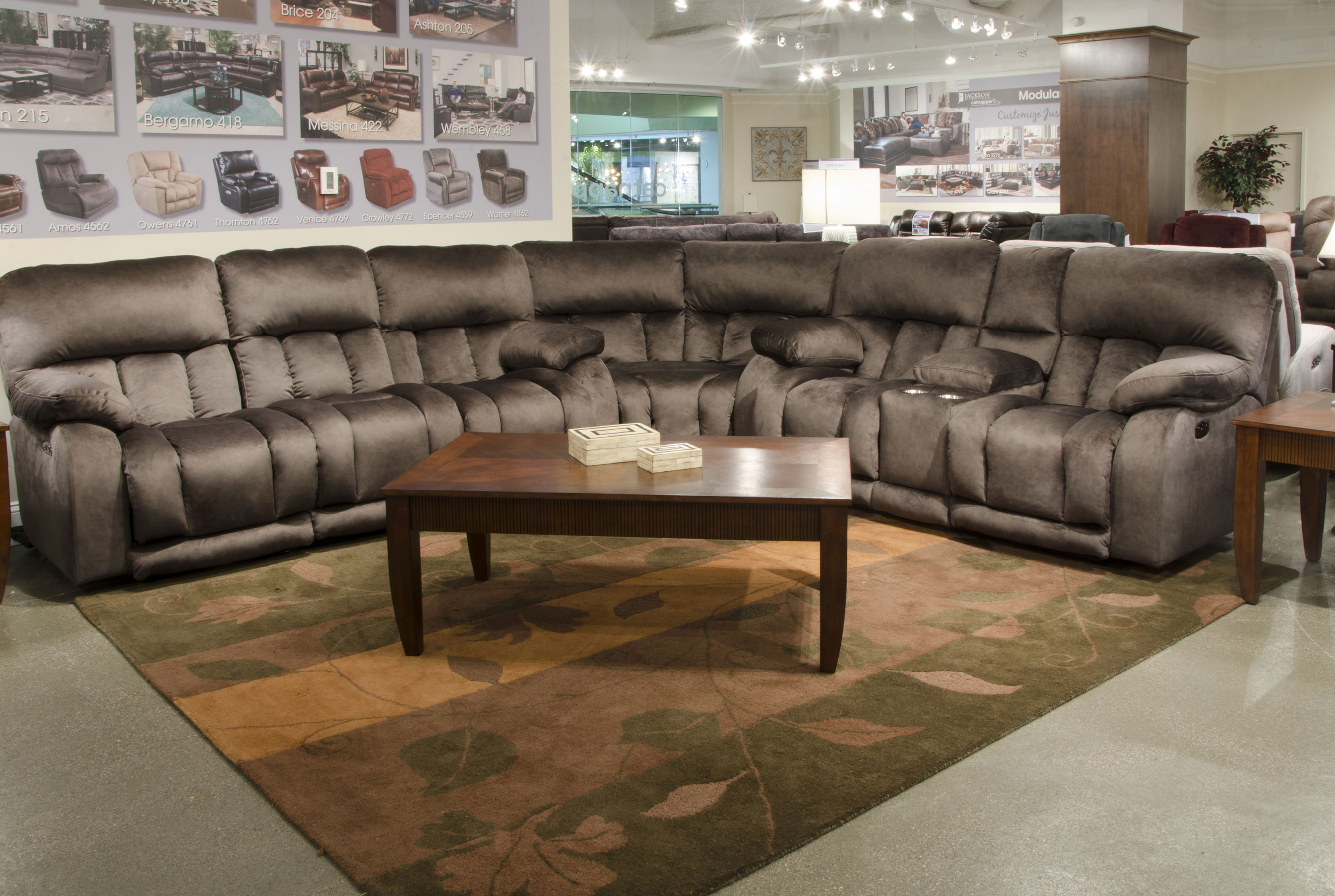 Swell Kendall Power Headrest Sectional W Power Sofas And Sectionals Short Links Chair Design For Home Short Linksinfo