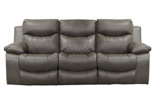 "Connor 90"" Power Headrest Reclining Sofa"