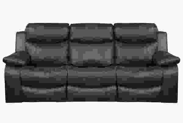"Connor 90"" Power Headrest Reclining Sofa w/ Power Lumbar Option"