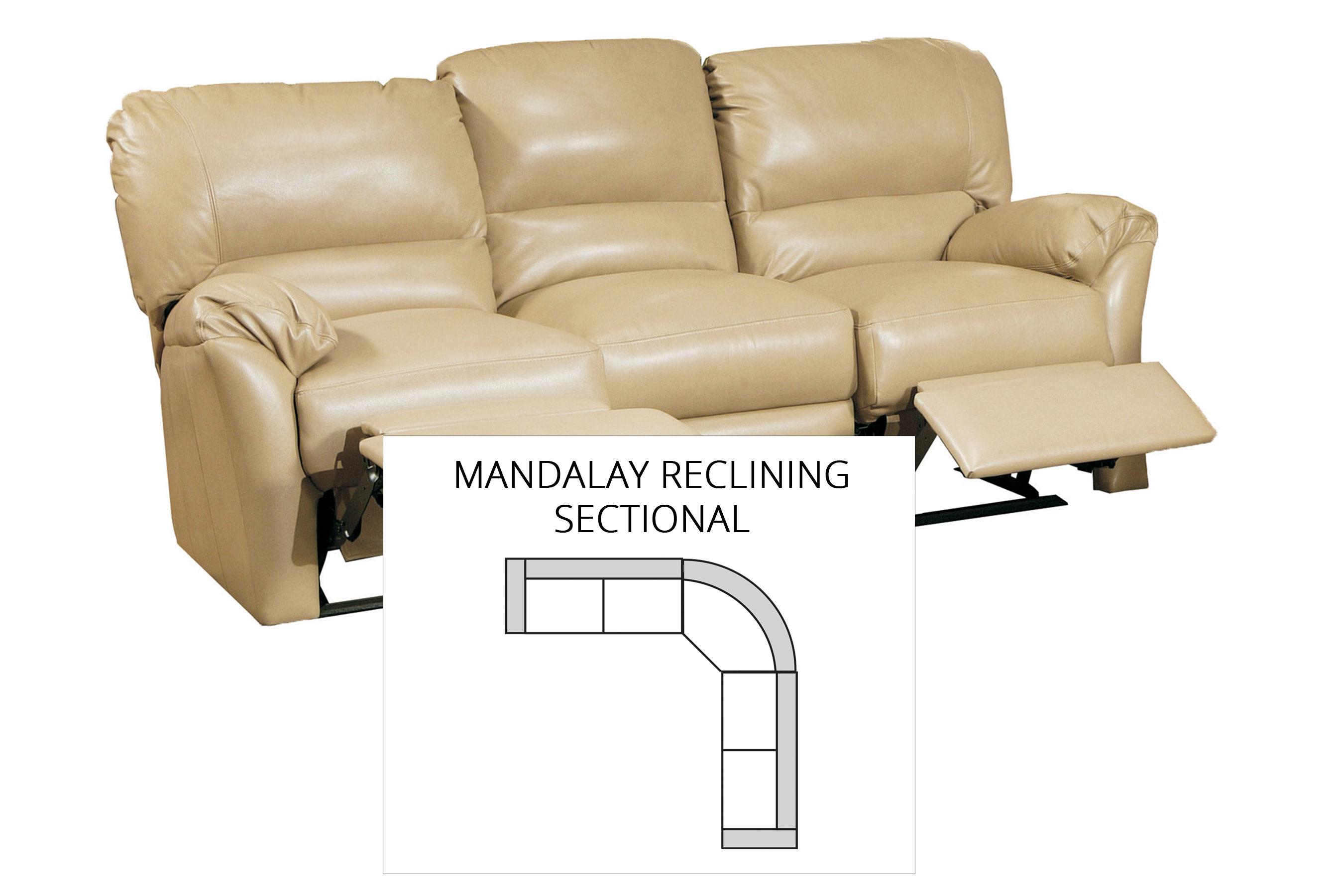 Mandalay Reclining Sectional All