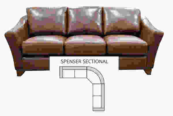 Spencer Sectional (All Leather)