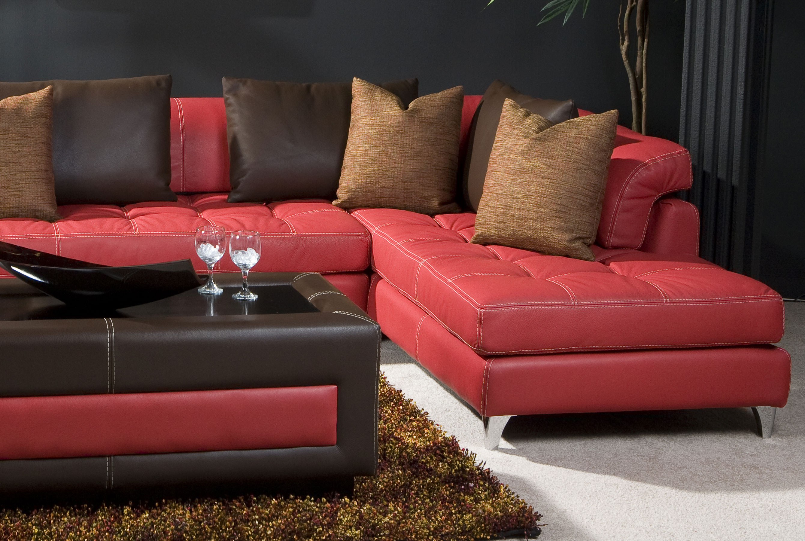 Ideas About Veneto Brown Leather Reclining Sofa