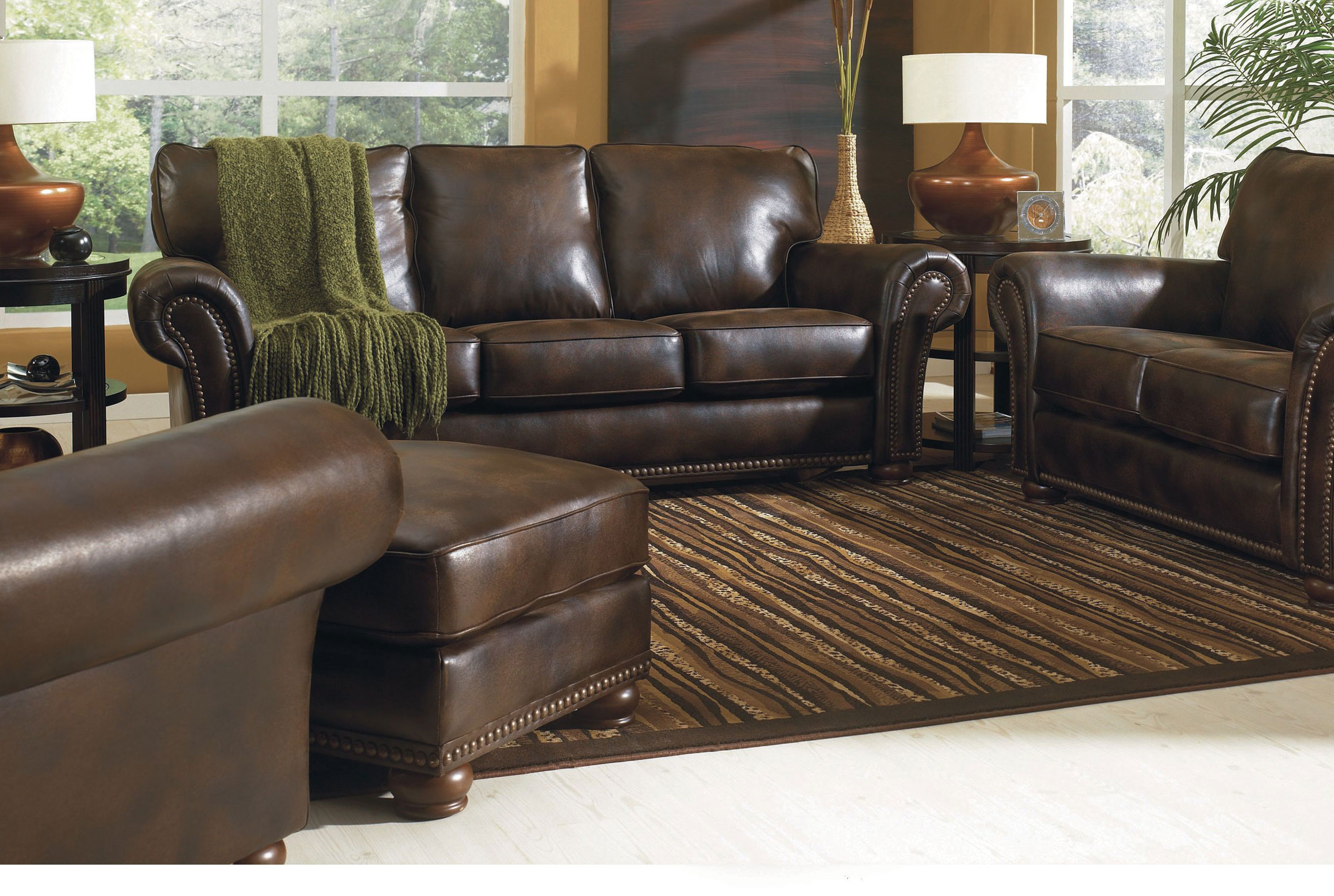 Benson 90 Leather 630 Sofa Sofas And