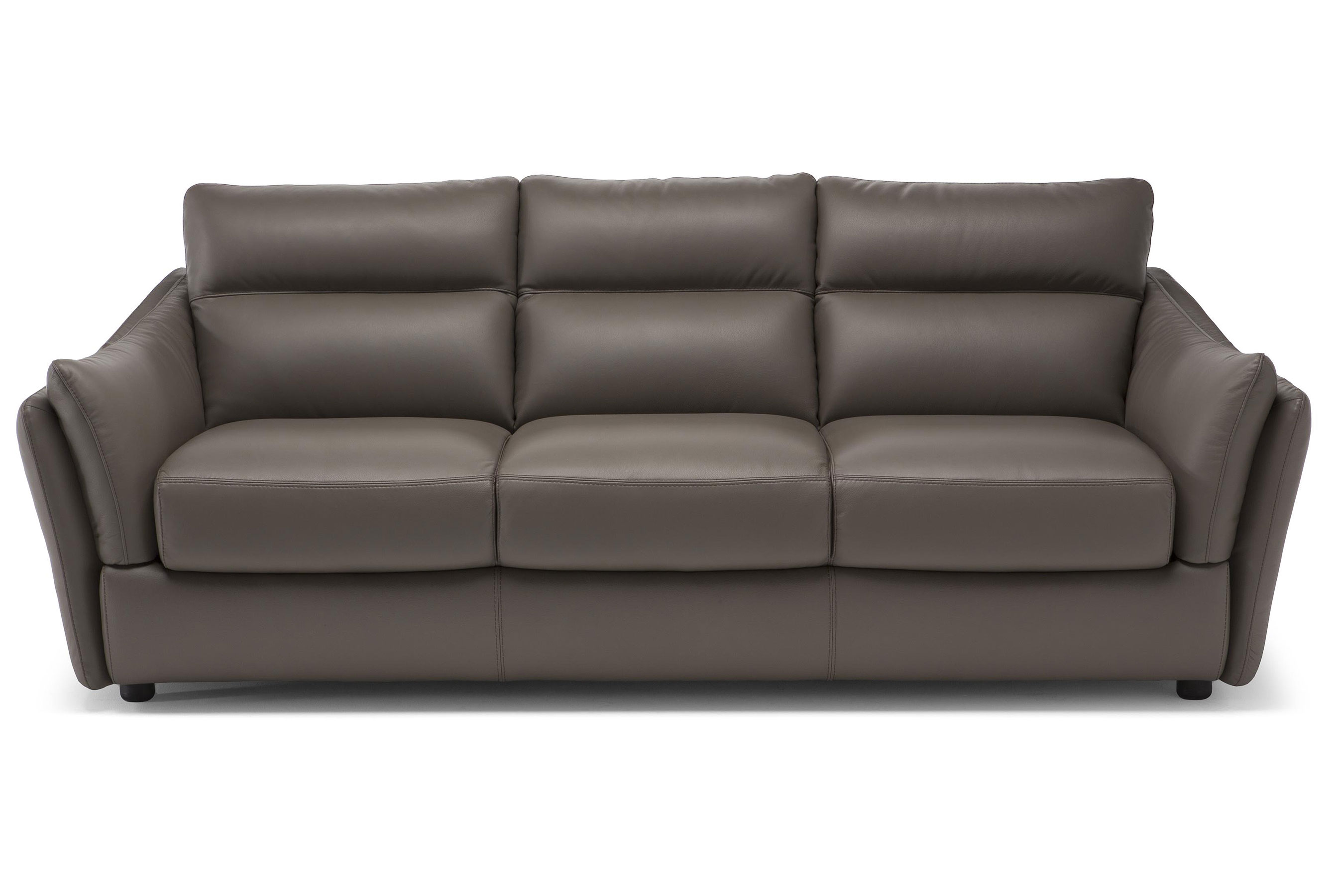 Etonnant Affetto C055 **Top Grain Leather** Sofa. By Natuzzi Editions