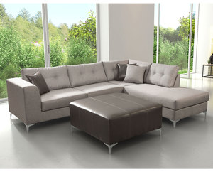 Memphis Sectional 2 Piece Sectional. By Zuo