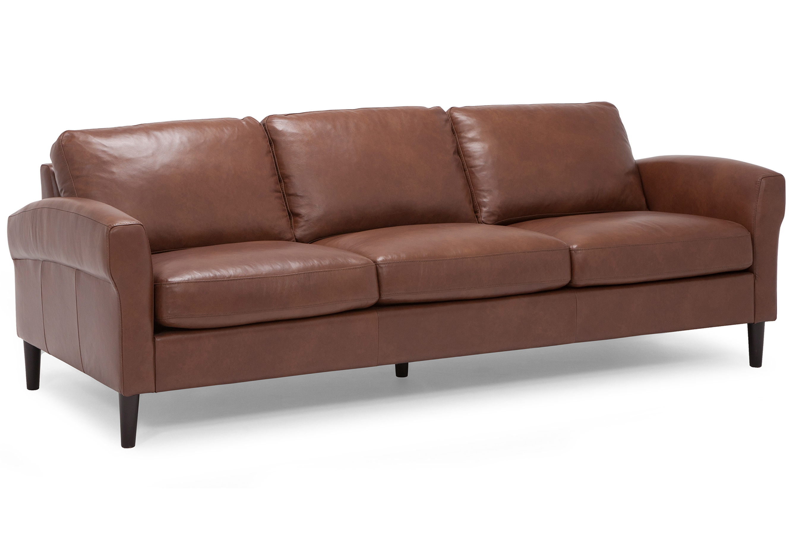 Majesty 100% Top Grain Leather Sofa in Bronco | Sofas and ...