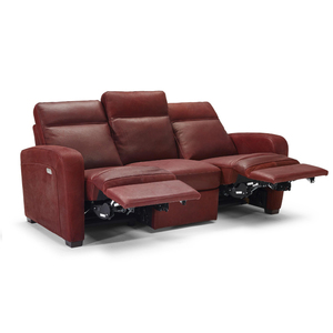 Accoglienza B938 100 Top Grain Leather Reclining Sofa By Natuzzi Editions