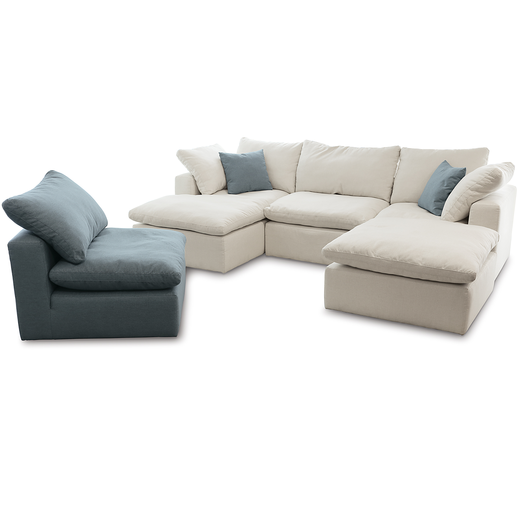 Bloom Modular Sectional 150 Fabrics