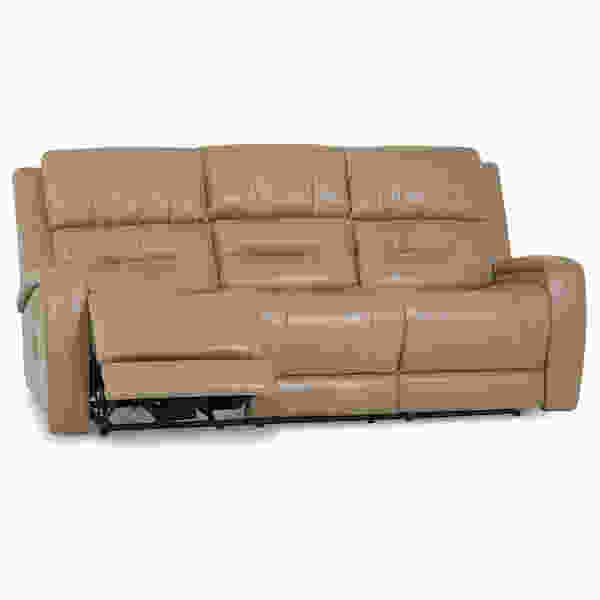 Washington Power Headrest Reclining Sofa w/ Optional Power Lumbar