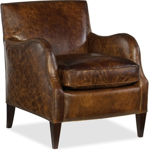 All Leather Club Chair