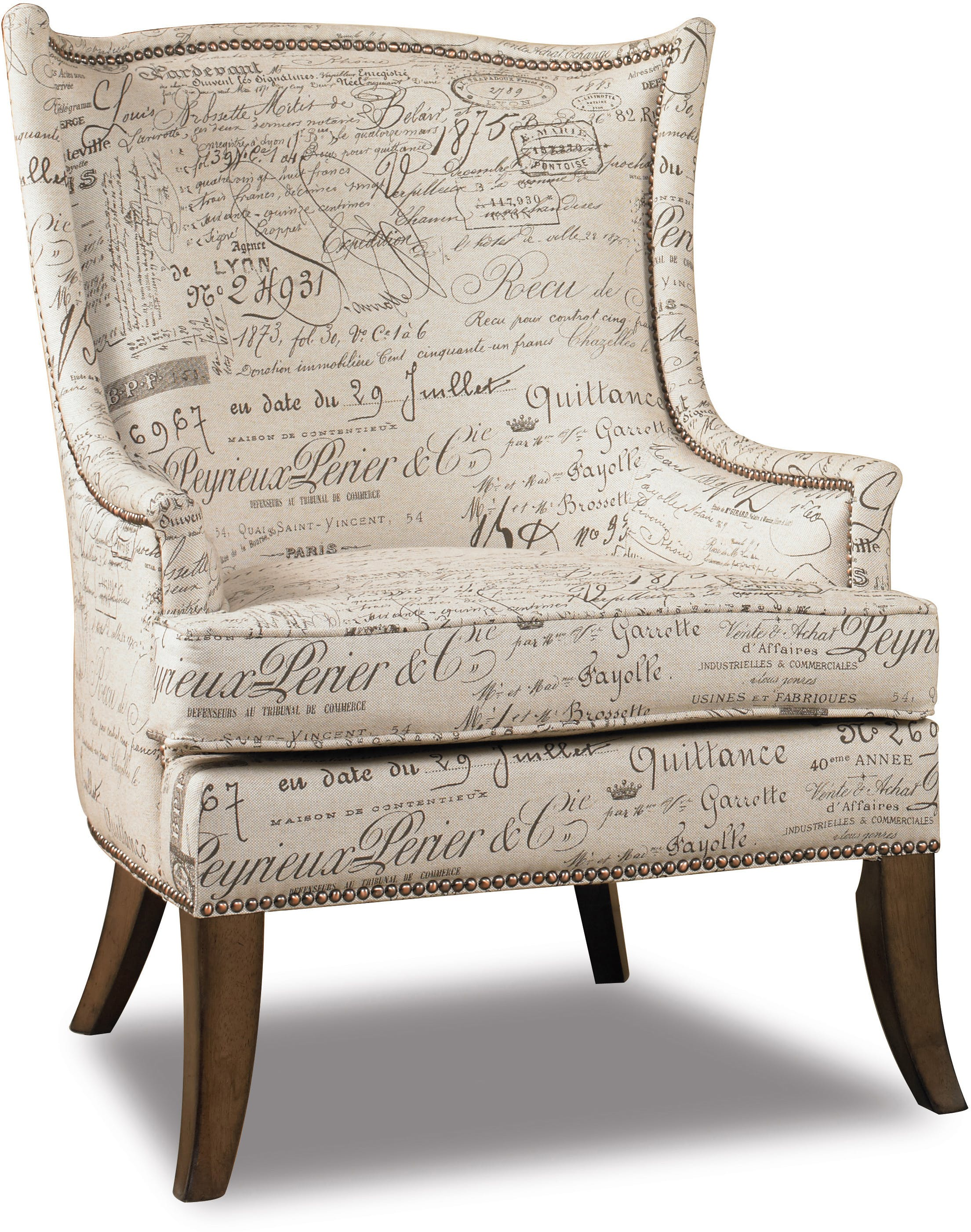 Paris Accent Chair 6-6-6  Sofas and Sectionals