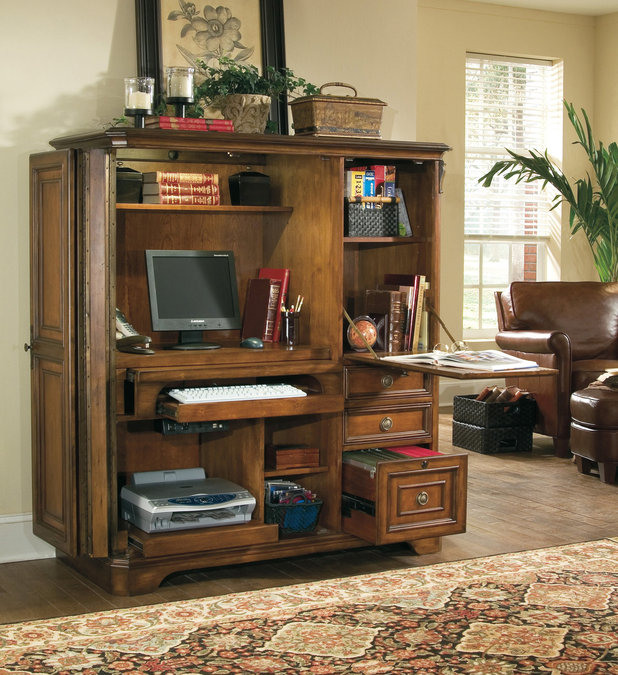 Brookhaven Computer Cabinet 42-42-42  Sofas and Sectionals