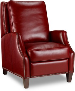 Kerley Leather Recliner w/ Nailhead Trim