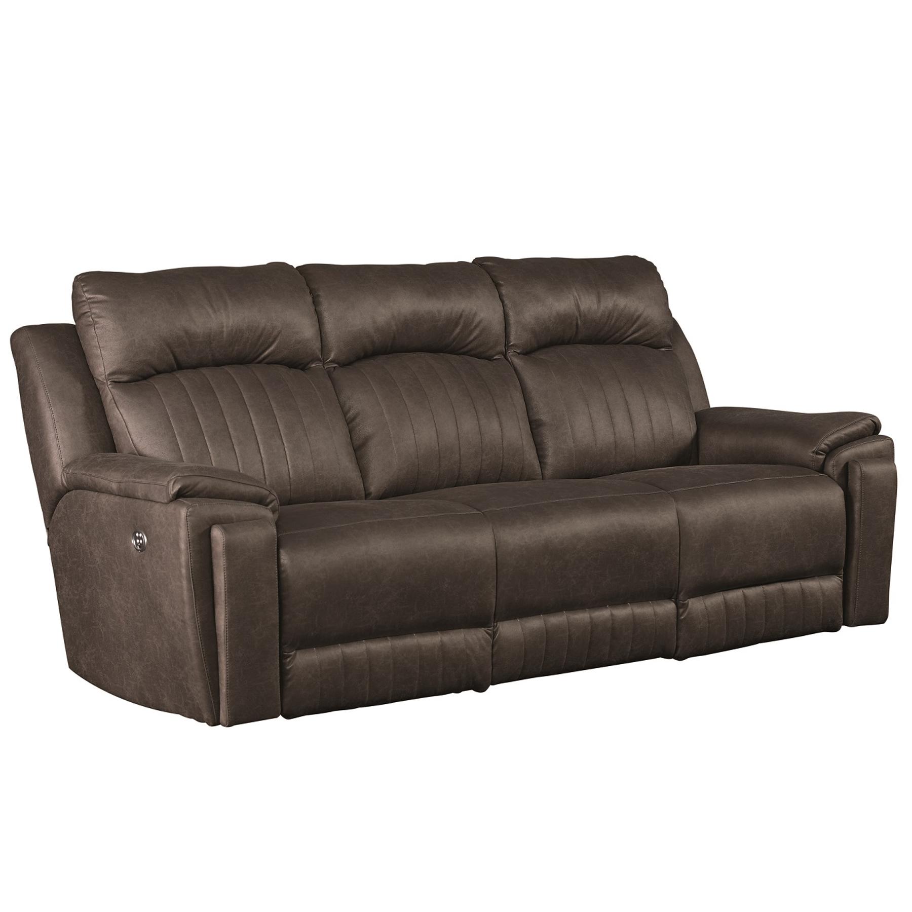 Silver Screen Reclining Sofa W Hidden Arm Sofas And