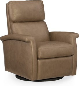 Rosalie Leather Swivel Recliner