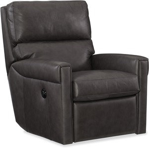 Lyrica All Leather Power Swivel Recliner