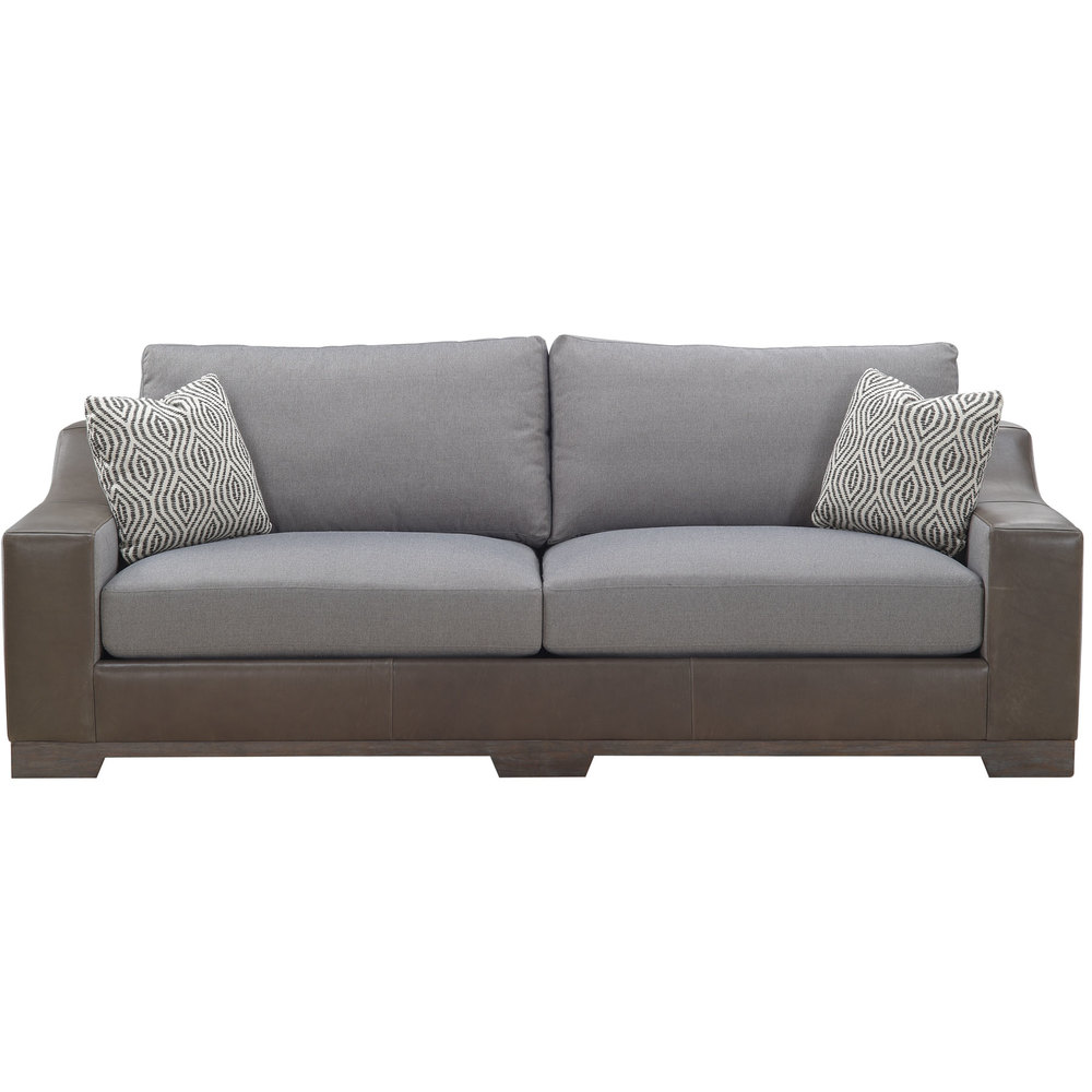 Miraculous Brannon Tweed 96 Leather Fabric Sofa Sofas And Sectionals Squirreltailoven Fun Painted Chair Ideas Images Squirreltailovenorg