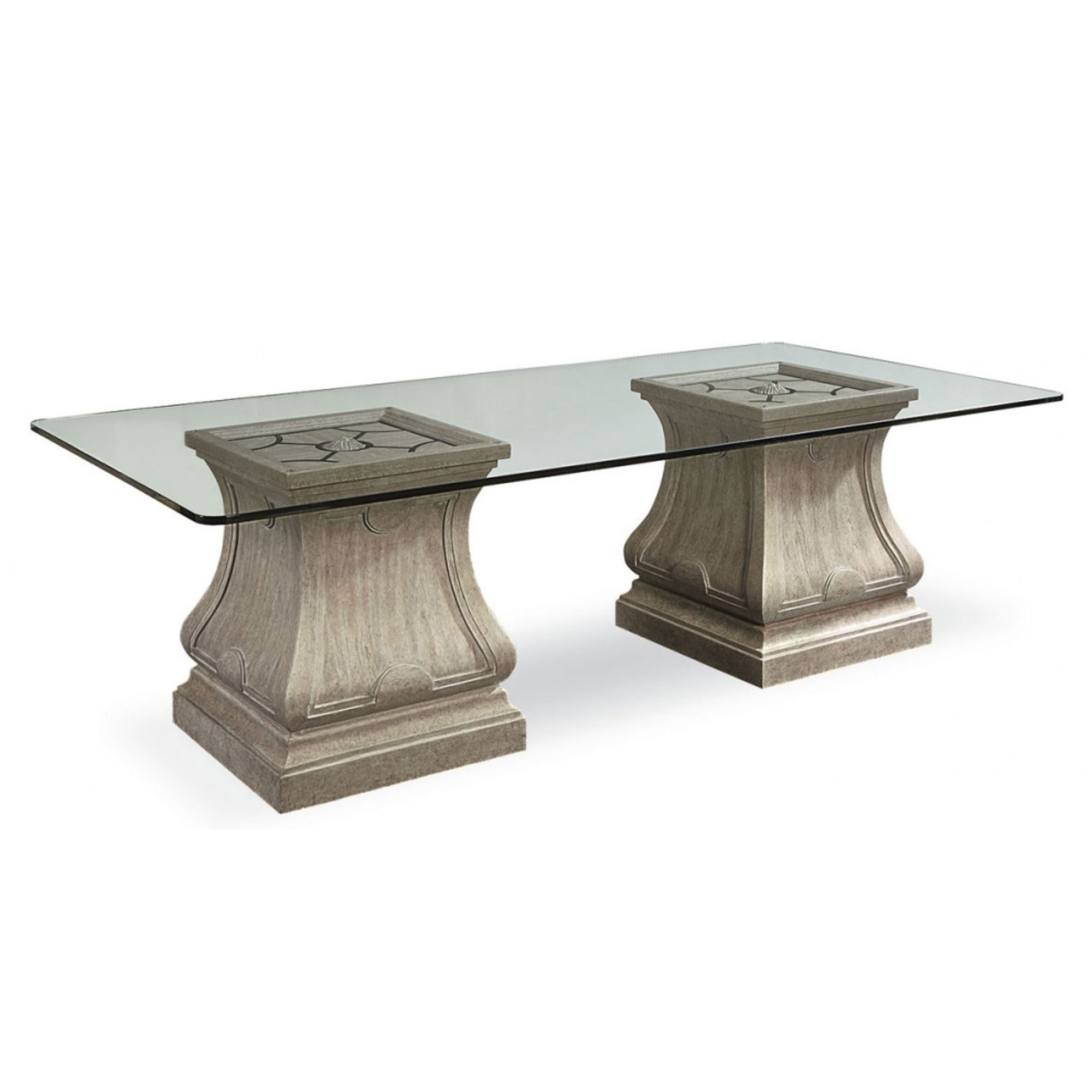 Arch Salvage Leoni Rectangular Dining Table Sofas And Sectionals