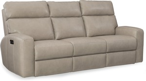 Mowry Leather Power Motion Sofa w/Power Headrest