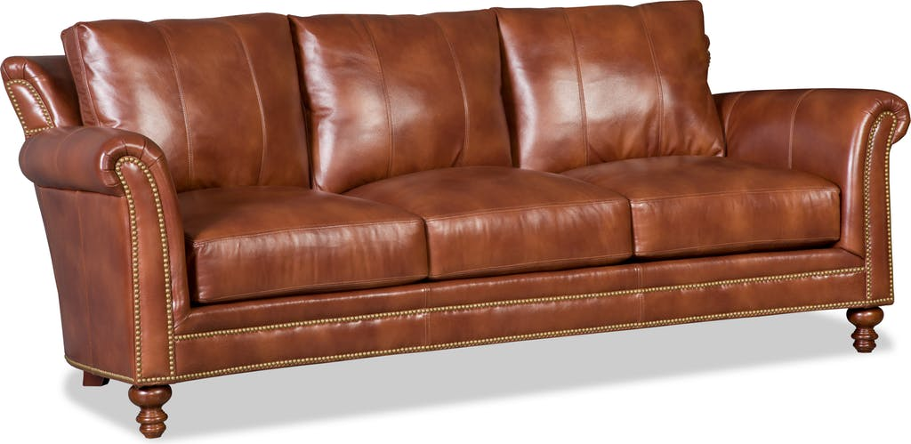 Richardson 8 Way Hand Tied Leather Sofa Sofas And Sectionals