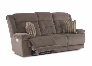 McCall Power Reclining Sofa w/ Power Headrest and Power Recline