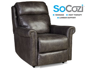 Superstar Rocker Recliner w/ Heat + Massage + Lumbar + Free Power Headrest