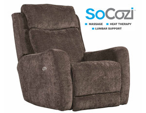 Viewpoint Rocker Recliner w/ Heat + Massage + Lumbar + Free Power Headrest