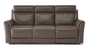 C128 Power Reclining Sofa w/ Power Headrest