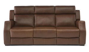 Tenero C122 Power Reclining Sofa w/ Power Headrest (Top Grain Leather)