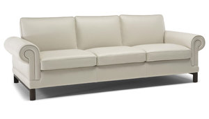 "Scaltro C118 87"" or 83"" Sofa (Top Grain Leather)"