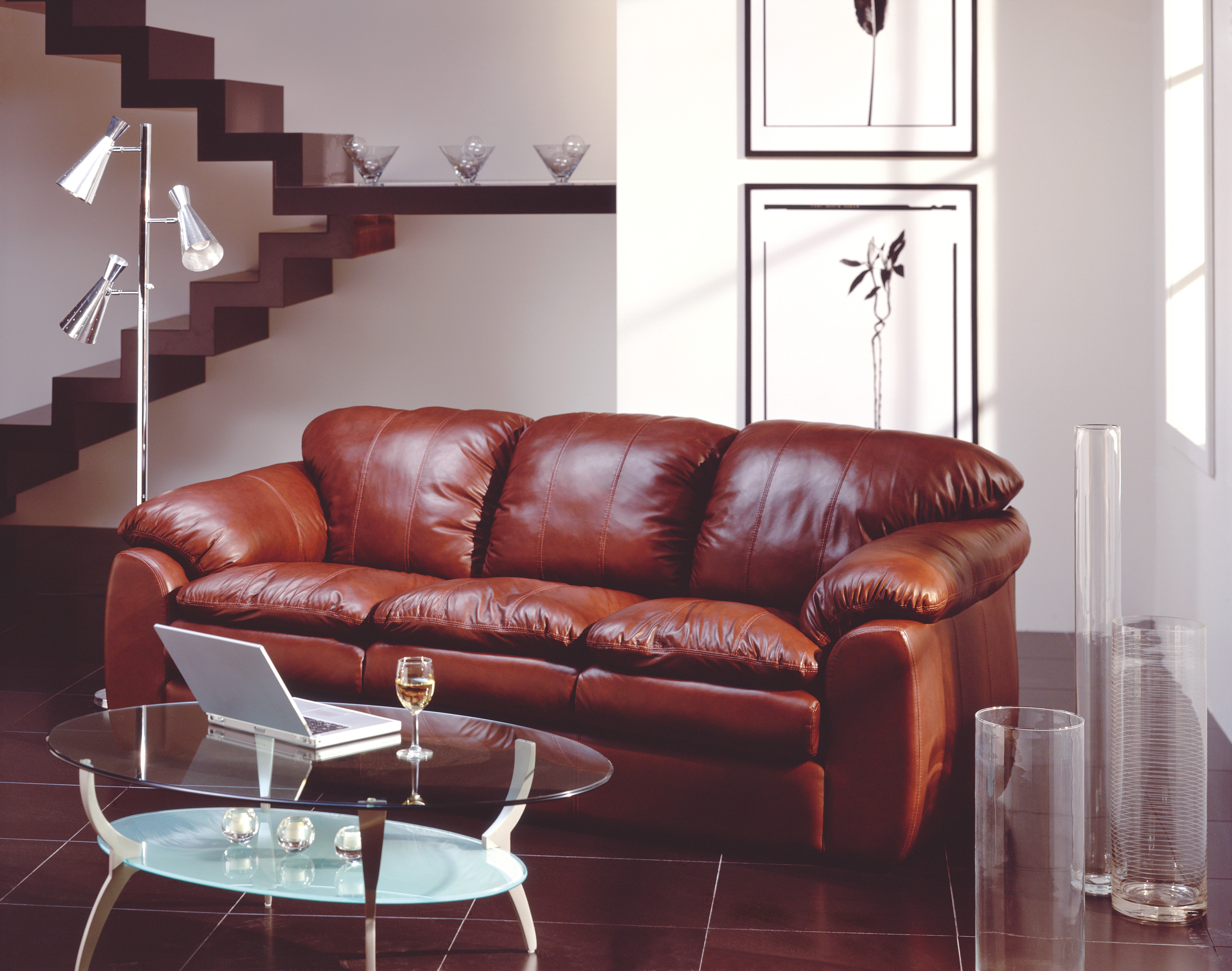 Shanelle 77738 Leather Sofa Collection