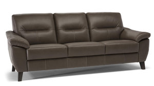 "C130 87"" Top Grain Leather Sofa"