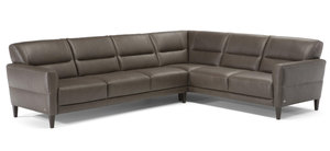 C131 Top Grain Leather Sectional