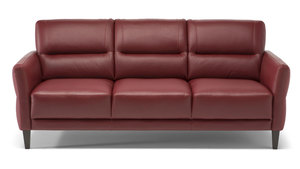 "C132 78"" Top Grain Leather Sofa"