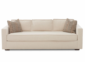 "NEW - Allen 88"" Sofa w/ Down Cushions"