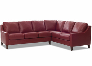 NEW - Belton All Leather Sectional