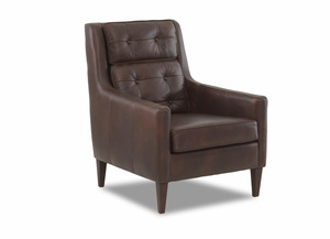 NEW - Chandler Top Grain Leather Chair