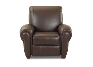NEW - Cigar Top Grain Leather Chair