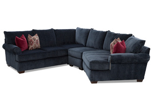 NEW - Ginger Transitional Sectional