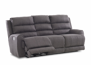NEW - Gleeson Power Reclining Sofa w/ Power Headrest