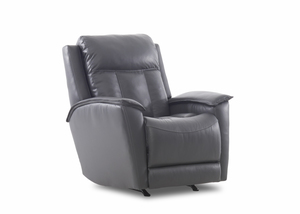 NEW - Grant Leather Power Recliner w/ Power Headrest