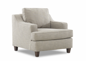 NEW - Marjorie Club Chair and Ottoman